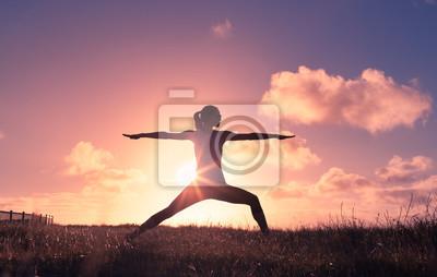 Fototapeta Zdrowie i równowaga ciała.