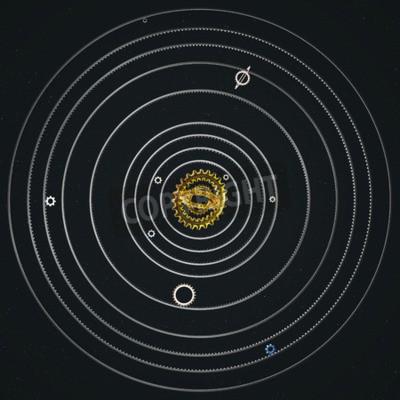 Fototapeta Zębata Solar System