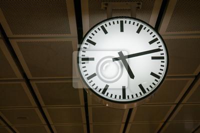 Zegar w stacji