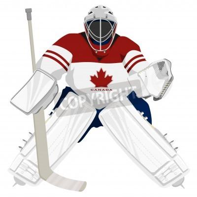Fototapeta Zespół Kanada hokej bramkarz