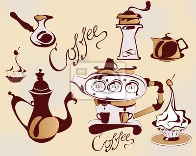 Zestaw elementów do kawy