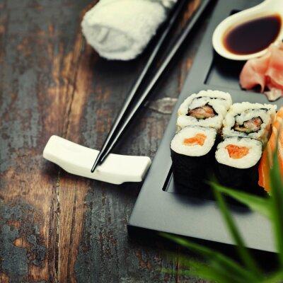 Fototapeta Zestaw sushi