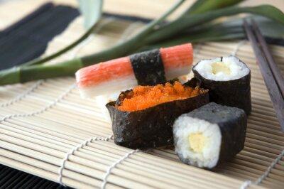 Fototapeta Zestaw sushi bliska