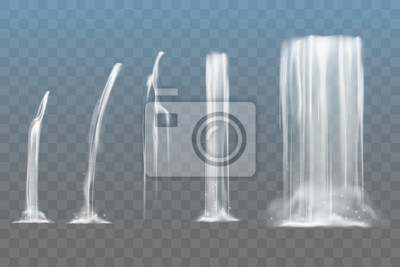 Fototapeta Zestaw wodospadów