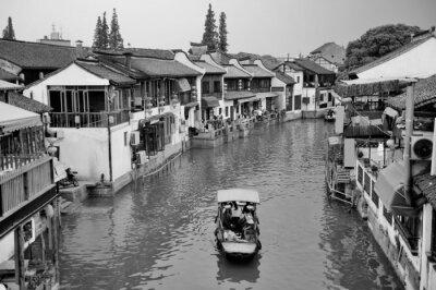 Fototapeta Zhujiajiao Town w Szanghaju