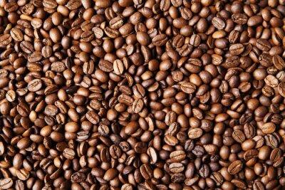Fototapeta Ziarna kawy tle