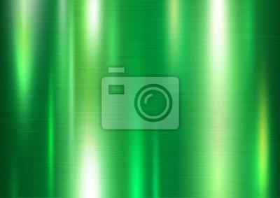 Zielona metalu tekstury tła wektoru ilustracja