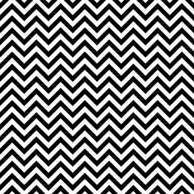 Fototapeta Zigzag pattern, seamless illustration