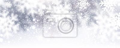 Fototapeta Zima w tle.