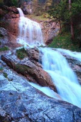 Fototapeta Zipfelsbach w Hinterstein