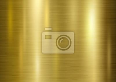 Złota metalu tekstury tła ilustracji wektorowych