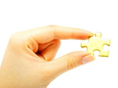 złota puzzle