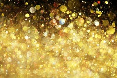 Fototapeta Złoty brokat