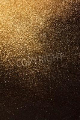 Fototapeta złotym tle