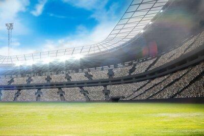 Fototapeta Złożony obraz stadionu