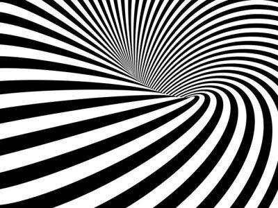 Fototapeta Złudzenie optyczne tunel