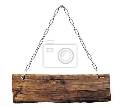 Fototapeta znak drewna