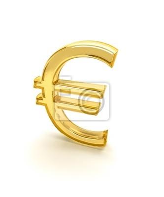 8129149f9 Fototapeta Znak euro 3d na wymiar • nowoczesny, tło, projekt • REDRO.pl