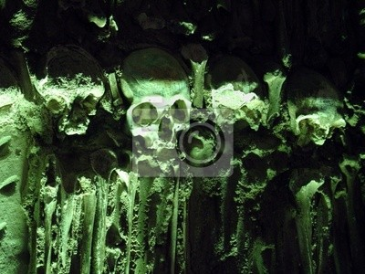 Znani kości w Evora, Portugalia