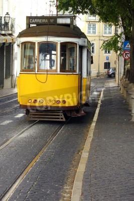 Fototapeta Znani Tram 28, Lizbona, Portugalia