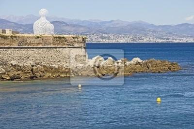 Zobacz Antibes, południowej Francji