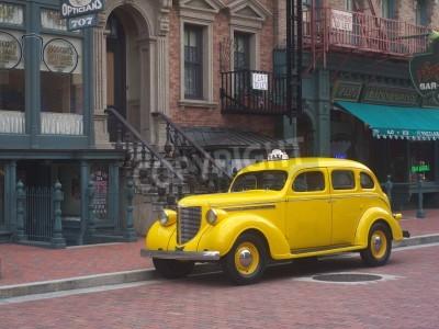 Fototapeta Żółta Taxi