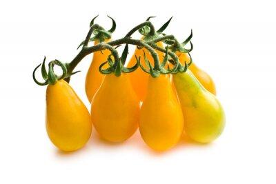 Fototapeta żółte pomidory koktajlowe
