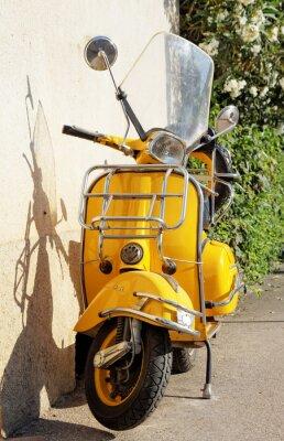Fototapeta Żółty Vespa