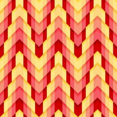 Fototapeta Zygzak Seamless Pattern
