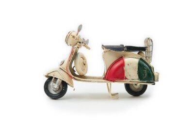 Naklejka 03 Handmade Italian Moped