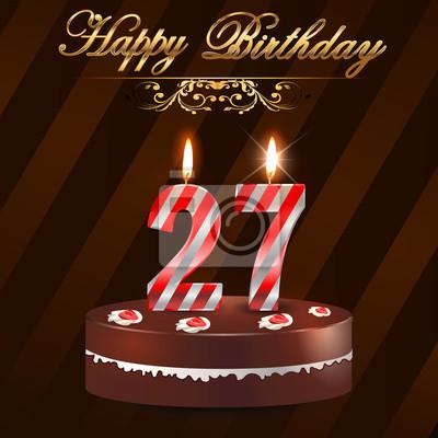 Поздравления с днем рождения мужчины 27 лет