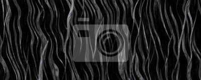 Naklejka 3d illustration metallic abstract root background