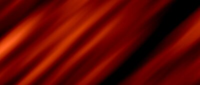 Naklejka Abstract background luxury fabric cloth or liquid wave pattern with fashion design Concept in simplicity on Red. banner, Copy Space-3d Rendering