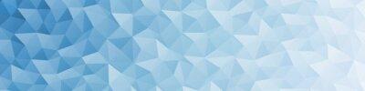 Naklejka Abstract Delaunay Voronoi trianglify color diagram background illustration