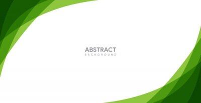 Naklejka abstract green background design. modern green background template
