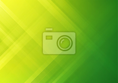Naklejka Abstract green geometric vector background, can be used for cover design, poster and advertising