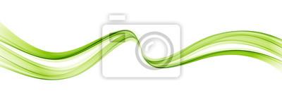 Naklejka Abstrakcjonistyczny kolorowy wektorowy tło, kolor fala dla projekt broszurki, strona internetowa, ulotka.