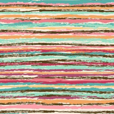 Naklejka Abstrakcyjna bez szwu deseń w paski