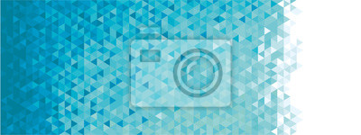 Naklejka Abstrakcyjna transparentu geometryczne
