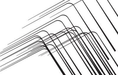 Naklejka abstrakcyjne elementy projektu czarne linie tła