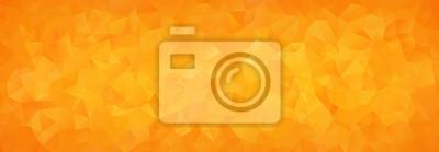 Naklejka abstrakcyjne tło mozaiki pomarańczowych trójkątów gradientu
