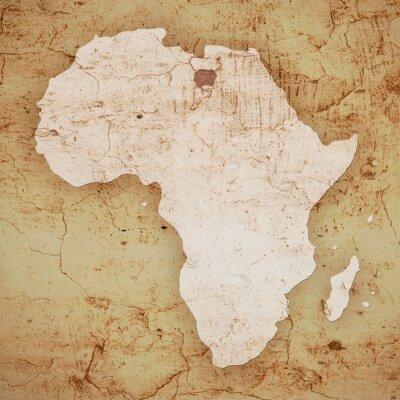 Naklejka Afrika