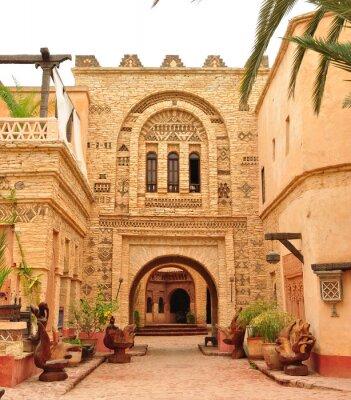 Naklejka Agadir medina brama