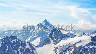 Naklejka Alpy z szczytu Titlis