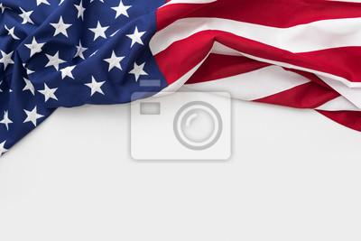Naklejka American flag na Dzień Pamięci, 4 lipca, Dzień Pracy