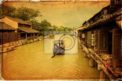 Ancient wody miasta Wuzhen, Chiny
