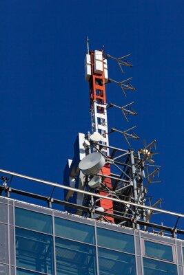 Naklejka antena telekomunikacyjna