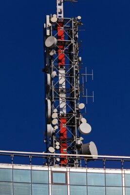 Naklejka anteny telekomunikacyjne