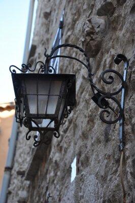 Naklejka Antibes lampadaire