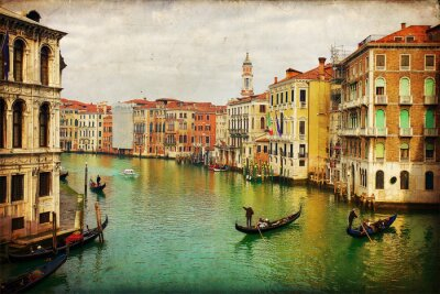Naklejka Antique Venice
